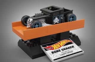 Bone Shaker Mega colaboración con Hot Wheels