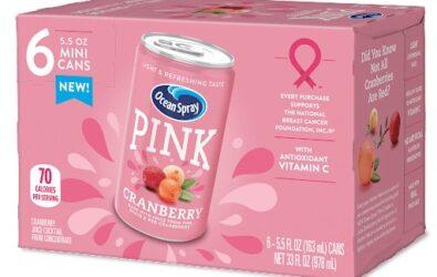 Pink Cranberry de Ocean Spray contra el cáncer de mama