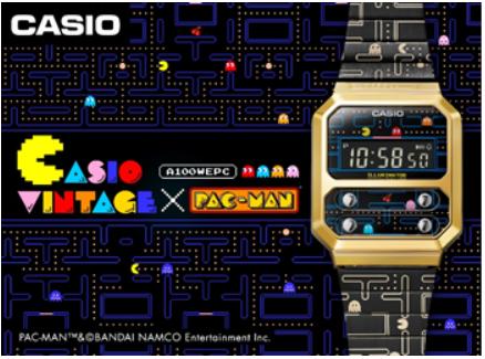 Casio Vintage x PAC-MAN llega a México